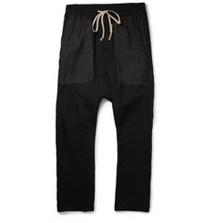 Rick Owens - Drop-Crotch Virgin Wool Trousers