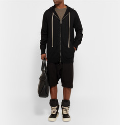 Rick Owens Boiled Cashmere Hoodie