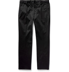 Calvin Klein Collection Ketone Slim-Fit Stretch-Cotton Trousers