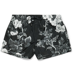 Dolce & Gabbana - Printed Short-Length Swim Shorts