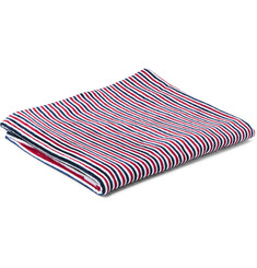 Thom Browne Striped Cotton Towel