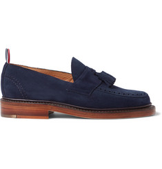 Thom Browne Tasselled Suede Loafers
