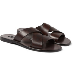 Dolce & Gabbana - Leather Slides