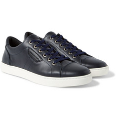 Dolce & Gabbana - Cap-Toe Leather Sneakers