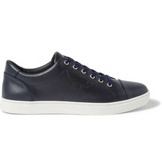 Dolce & Gabbana Cap-Toe Leather Sneakers