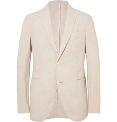 Boglioli Stone Slim-Fit Linen Suit Jacket