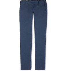 Boglioli Slim-Fit Stretch-Cotton Trousers