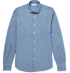 Boglioli Slim-Fit Cotton-Chambray Shirt