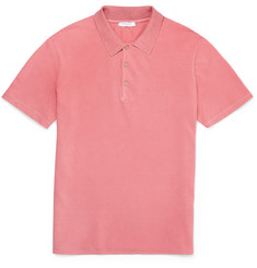 Boglioli Slim-Fit Cotton-Piqué Polo Shirt