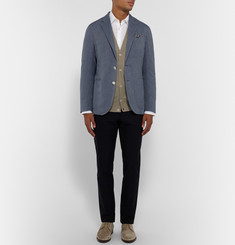 Boglioli Knitted Cotton Cardigan