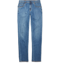 Boglioli Slim-Fit Washed-Denim Jeans