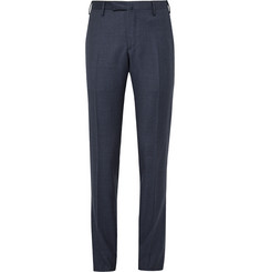 Boglioli Blue Dover Slim-Fit Puppytooth Virgin Wool Trousers