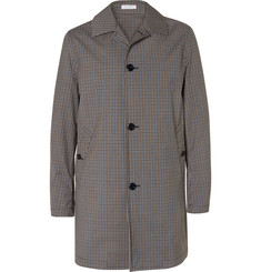 Boglioli Checked Cotton-Ripstop Trench Coat