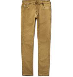 Maison Margiela Slim-Fit Garment-Dyed Stretch-Denim Jeans
