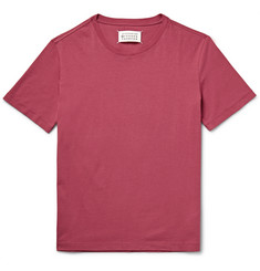 Maison Margiela Slim-Fit Garment-Dyed Cotton-Jersey T-Shirt