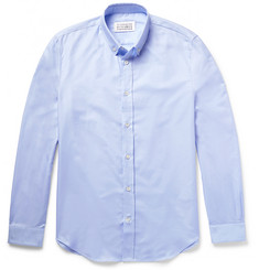 Maison Margiela - Slim-Fit Button-Down Collar Cotton Oxford Shirt