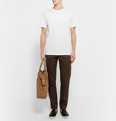 Maison Margiela Painted Cotton-Jersey T-Shirt