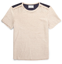 Maison Margiela Slim-Fit Colour-Block Knitted T-Shirt