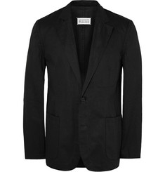 Maison Margiela Slim-Fit Cotton and Linen-Blend Twill Blazer