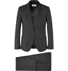 Maison Margiela Dark-Grey Slim-Fit Puppytooth Wool Suit