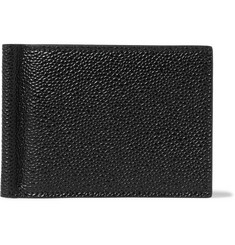 Thom Browne - Pebble-Grain Leather Billfold Wallet