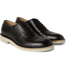 Maison Margiela Cap-Toe Leather Oxford Shoes