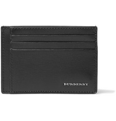 Burberry Shoes & Accessories Textured-Leather Cardholder