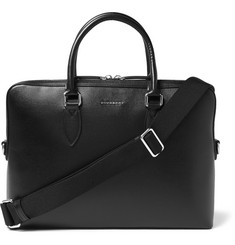 Burberry Shoes & Accessories - Cross-Grain Leather Briefcase