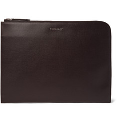 Burberry - Cross-Grain Leather Document Holder