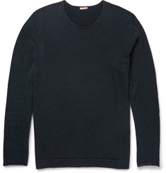 Massimo Alba Rolled-Edge Cashmere Sweater
