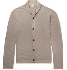 Massimo Alba - Watercolour-Dyed Shawl-Collar Cashmere Cardigan