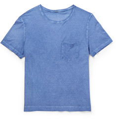Massimo Alba Slim-Fit Garment-Dyed Cotton-Jersey T-Shirt