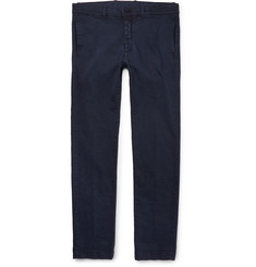 Massimo Alba Slim-Fit Stretch-Cotton Twill Trousers