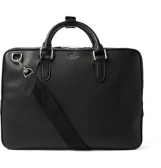 Smythson - Burlington Grained-Leather Briefcase