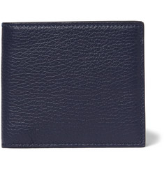 Smythson Burlington Textured-Leather Billfold Wallet