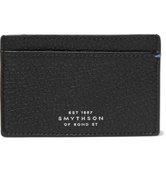 Smythson - Burlington Textured-Leather Cardholder
