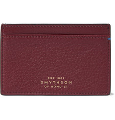 Smythson Burlington Textured-Leather Cardholder