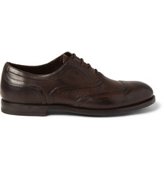 Bottega Veneta Leather Oxford Shoes