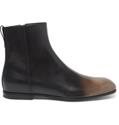Bottega Veneta Dégradé Leather Chelsea Boots