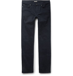 Bottega Veneta - Slim-Fit Stretch Cotton-Twill Trousers