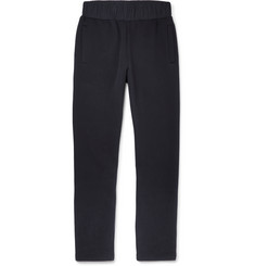 Bottega Veneta Wide-Leg Bonded Cotton-Blend Sweatpants