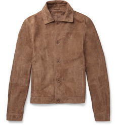 Bottega Veneta Slim-Fit Suede Jacket