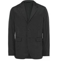Burberry London Black Slim-Fit Shell Blazer