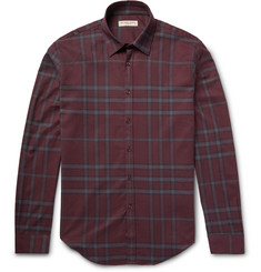 Burberry London - Slim-Fit Checked Cotton-Flannel Shirt
