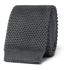 Burberry London Knitted Silk Tie