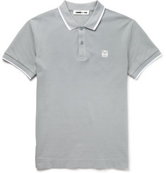 McQ Alexander McQueen Slim-Fit Cotton-Piqué Polo Shirt