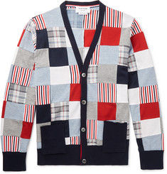 Thom Browne - Patchwork Cotton Cardigan