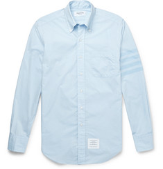 Thom Browne Slim-Fit Cotton-Poplin Shirt