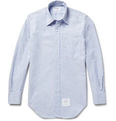Thom Browne Slim-Fit Button-Down Collar Cotton Oxford Shirt