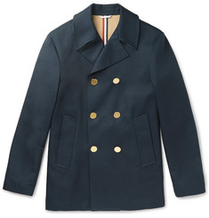 Thom Browne - Slim-Fit Cotton-Gabardine Peacoat